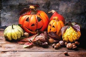 Halloween's pumpkins