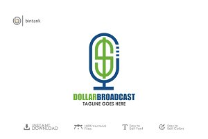 Dollar Broadcast Logo