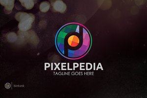 Pixel Pedia Logo