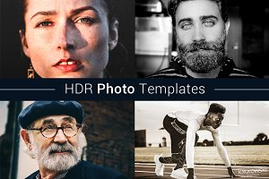HDR Like Photo Templates