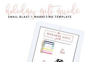 Holiday Marketing Template