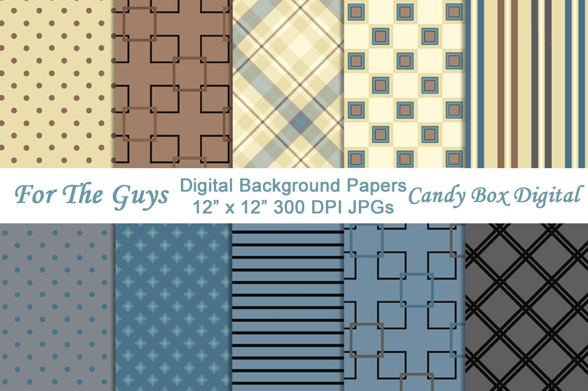 Masculine Digital Background Papers Patterns Creative