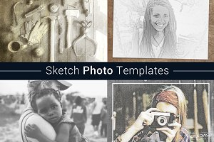 Sketch Photo Templates