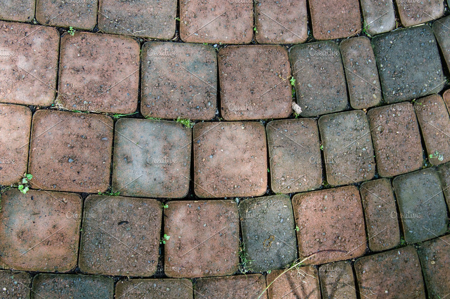 Brick Paver Pattern High Quality Abstract Stock Photos