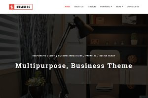 Business, Multipurpose HTML Template
