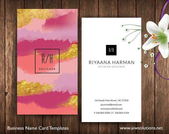 name card id30 business card templates creative market
