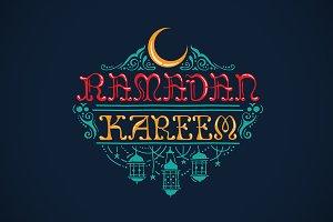 Ramadan Kareem - Greeting Card
