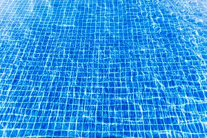 Water surface turquoise swimming pool background