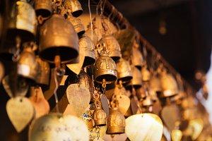 Famous Big Buddha wish bells, Phuket, Thailand