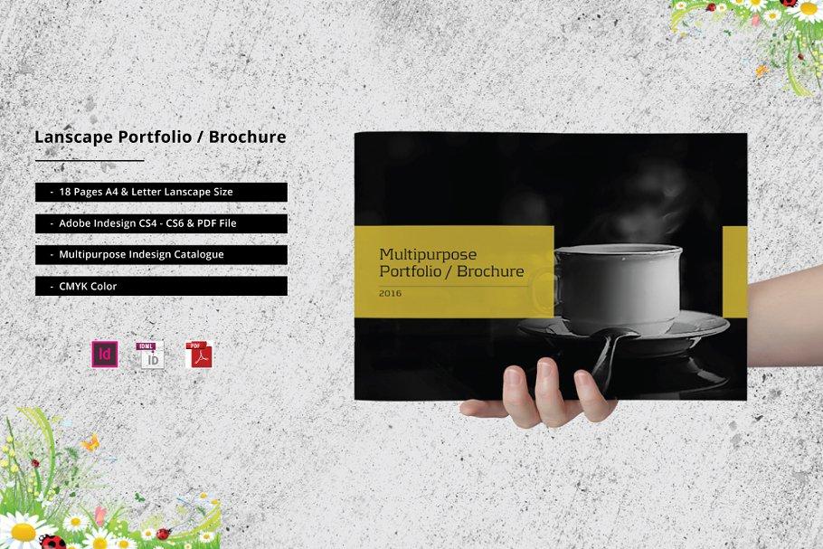 530cd8ee6e16 Catalogue Portfolio   Brochure ~ Brochure Templates ~ Creative Market