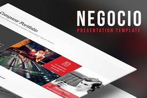 Negocio Presentation Template