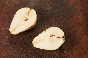 Yellow pear cuts