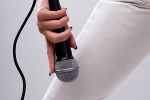 jeans with microphone
