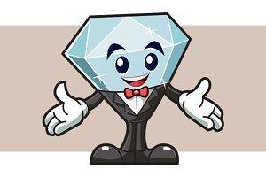 Diamond Mascot