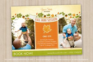 Fall Marketing Board Template