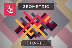 34 Geometric Shapes
