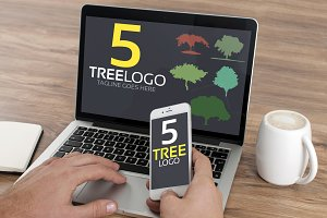 5 Tree Logo Mega Bundle