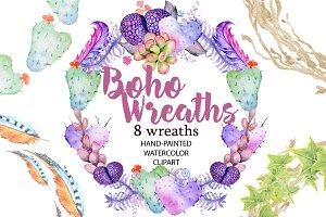 Boho Wreaths