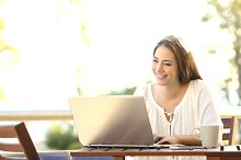 Entrepreneur woman working