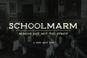 Schoolmarm Typeface