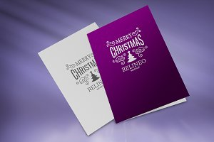 Christmas Card Mock-up#9