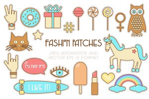 Fashion stickers bundle