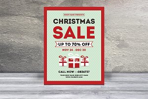 Christmas Sale Flyer-V439