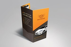 Trifold & Z-fold Mockup Pack
