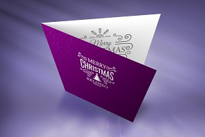 Christmas Card Mock-up#5