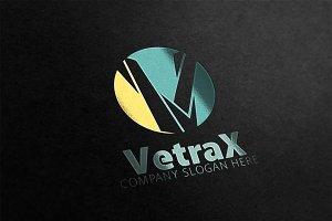V letter Logo
