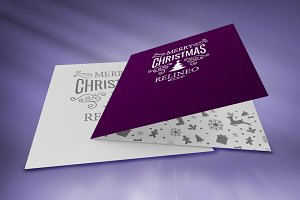 Christmas Card Mock-up#10