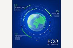 Globe Infographic