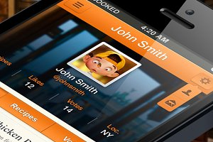Cooked iPhone App Template