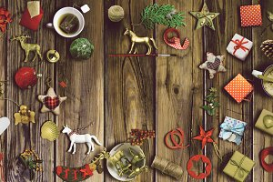 Xmas collection, background ornament