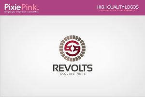 Revolts Logo Template