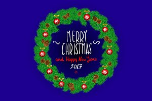 Merry Christmas Happy New Year 2017