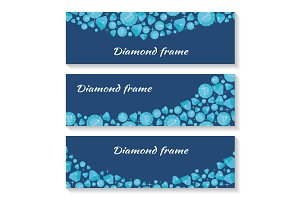 Diamond Frame Templates