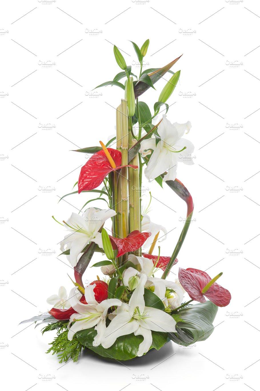Floral Arrangement With Anthurium Photos Creative Market