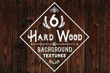 6 Hard Wood Background Textures