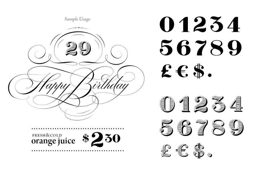2 inch exquisite bold bold number stencils 0 to 9.html