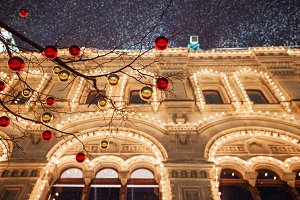 GUM on the Red Square, Moscow