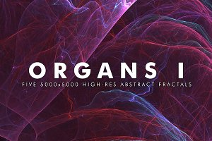 Organs I - Fractal Background Art