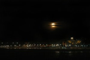 Supermoon over Las Canteras Beach #2