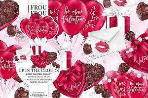 Romantic Valentine Clip Art