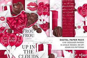 Romantic Valentine Paper Pack