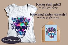 Trendy skull prints.