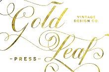 Gold Leaf Press - Glitter Update