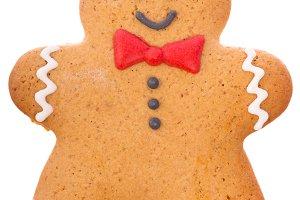 Christmas ginger gingerbread man