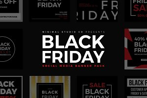 Black Friday Social Media Banner