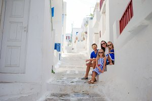 Family vacation in Greece
